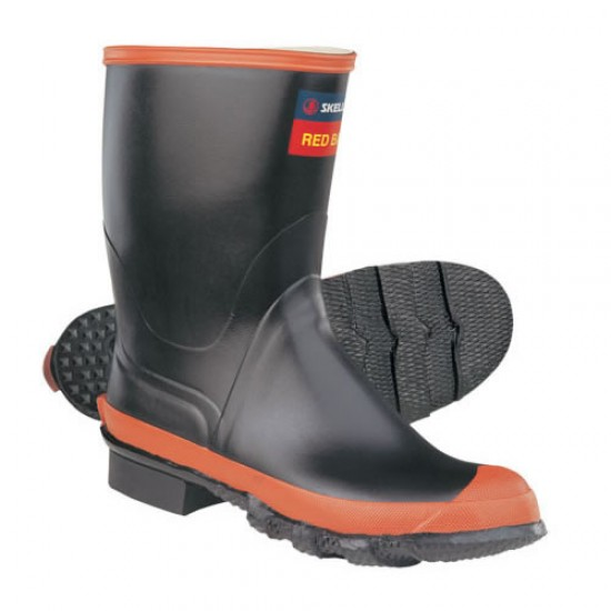 Red Band Gumboot Size 9 - each