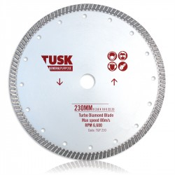 Tusk Turbo General Purpose Blade 105mm