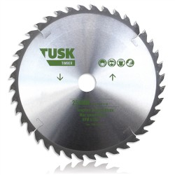 Tusk Timber Tungsten Carbide Blade 160mm 24T