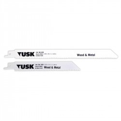 Tusk Sabra Saw Blades for Wood and Metal 150mm x 19 - 5pk