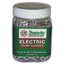 Strainrite Electric Crimp Sleeves (Pottle 50)