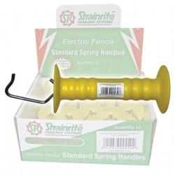 Strainrite Low Density Spring Handle - Yellow