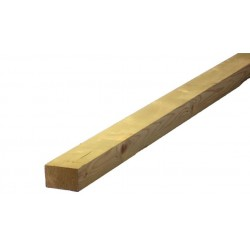 100x50mm H3.2 No2 Rail Rad Rough Sawn - 6.0m