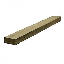 150x50mm H4 No2 Rail Rad Rough Sawn - 4.8m