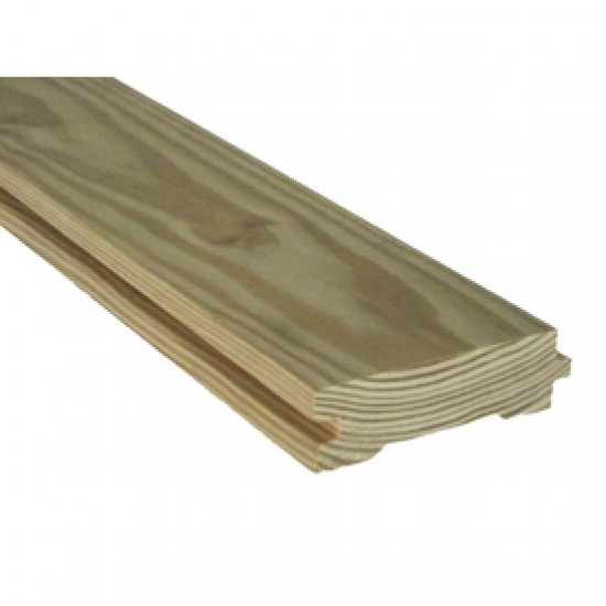150x50mm H4 No2 Rail Rad Tongue and Groove Smooth - 4.8m