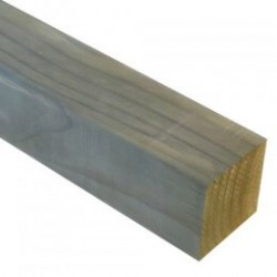 50x50mm (42x42mm)  Clear Balustrade H3.2 Rad Smooth 1.2m - Each