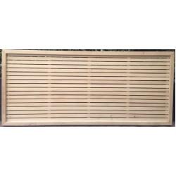 Trellis Oriental Framed 1200w x 1800h x 10mm - each