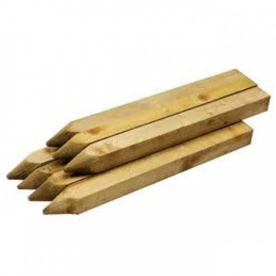 Pencil Stake 50x50mm H4 1.8m - Each