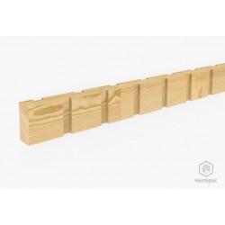 50x25mm Radiata Pine Castellated FJ LOSP H3.1 Batten - 2.7m