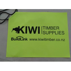Trailer Flag (Kiwi) 400x300mm Safety Yellow